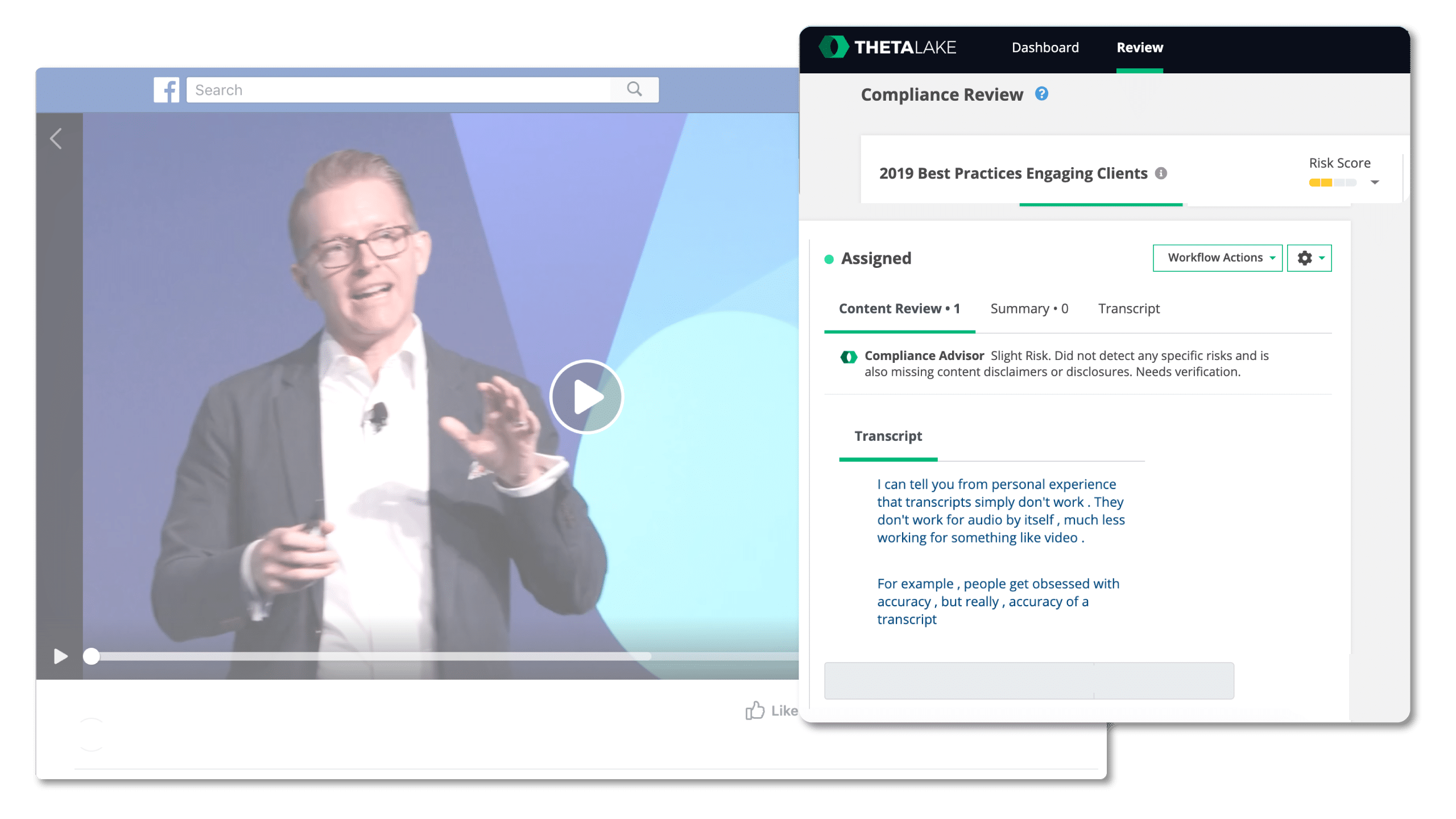 facebook video compliance review
