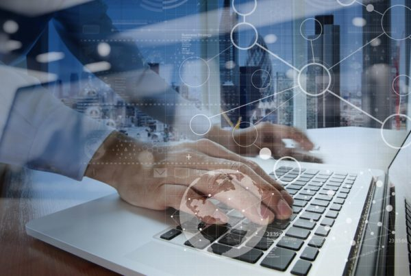 businessman hand working with modern technology and digital layer effect as business strategy concept 1 min