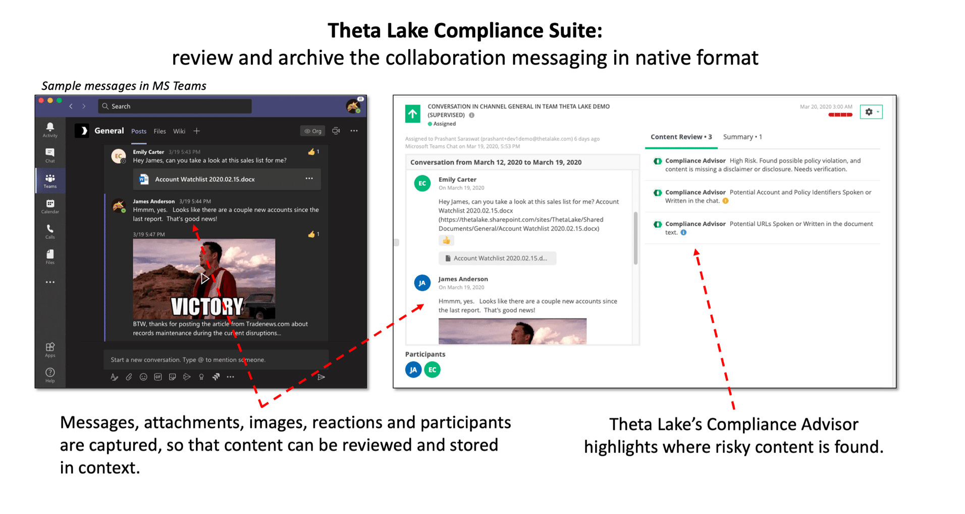 Theta Lake Announces First Fully Native Risk & Compliance Monitoring for Collaboration Chat
