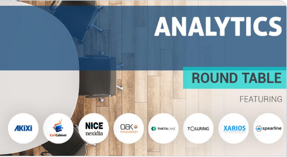 Analytics round table banner