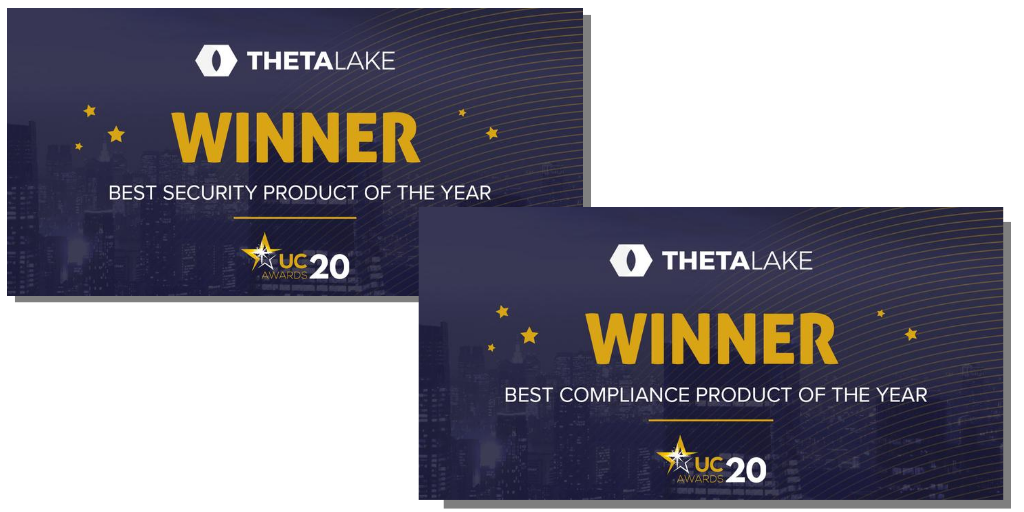 Theta Lake Wins 2020 UCToday Awards for Best Compliance & Best Security Product