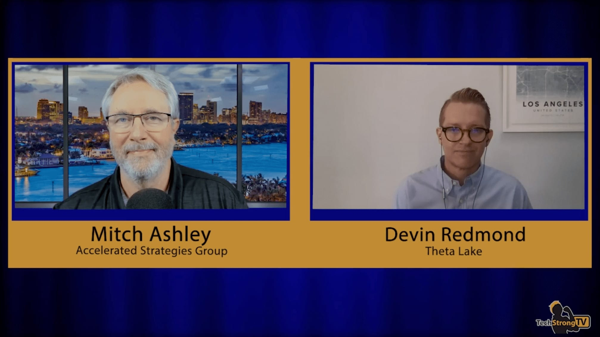 TechStrong TV Interview with Devin Redmond