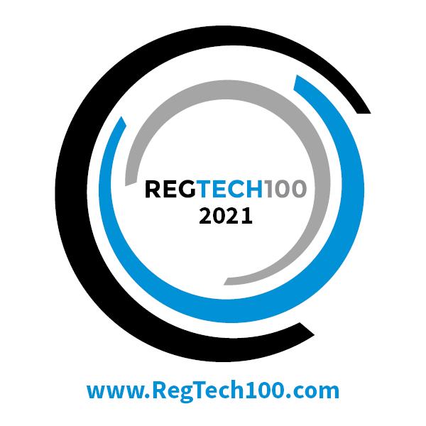 RegTech200 2021 banner award