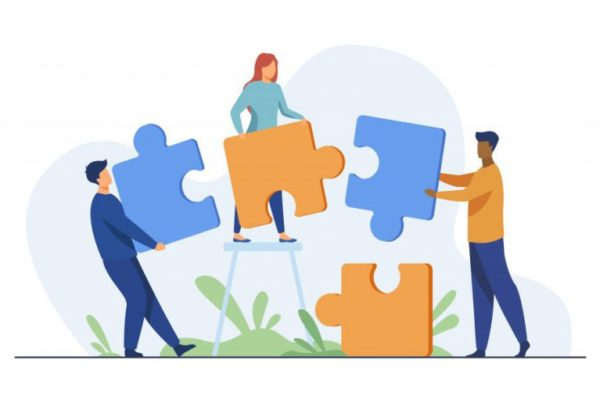 partnership drawing of people with jigsaw pieces 770x515 1