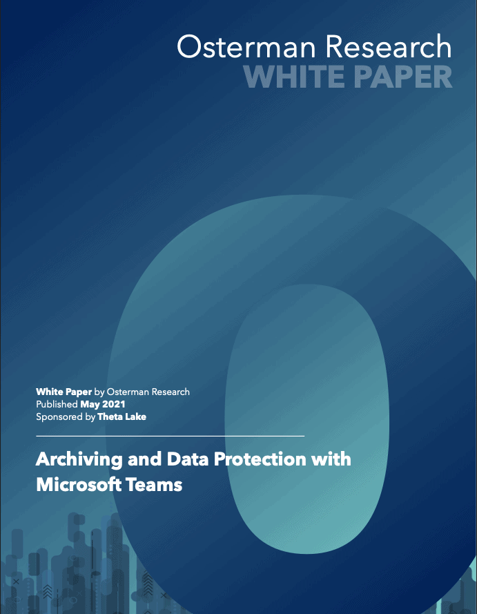 Archiving and Data Protection with Microsoft Teams