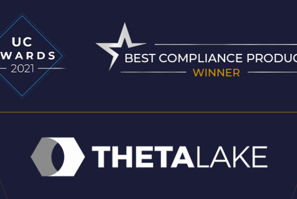 UC Today 2021 Winner - Best Compliance Product