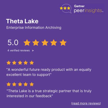Theta Lake Gartner Peer Insights