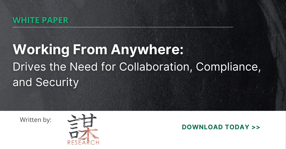 ZK Research - White paper on Work From Anywhere