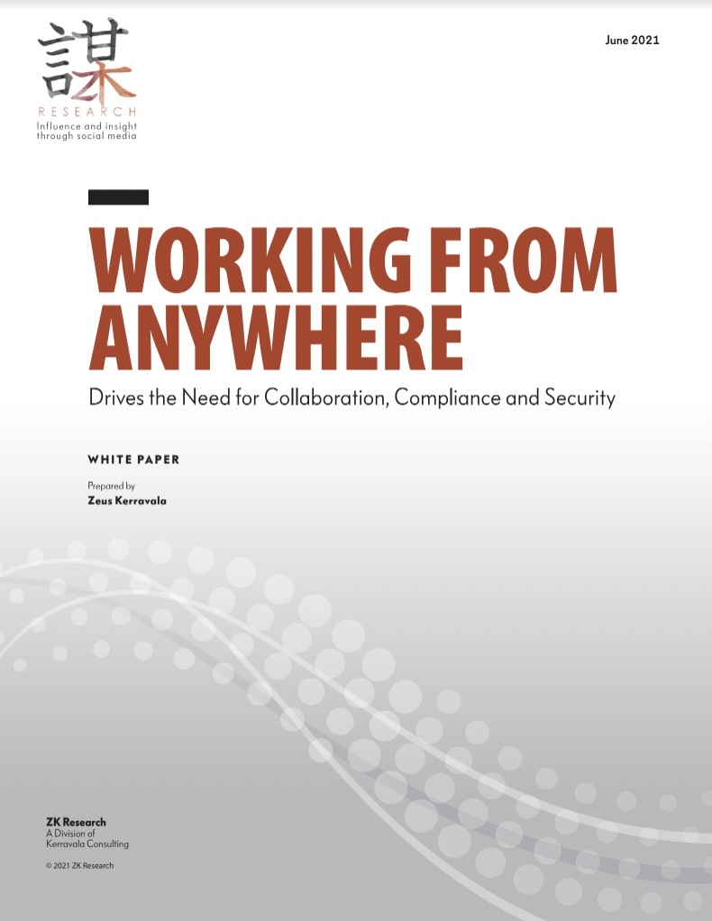 Working from anywhere Zeus White Paper