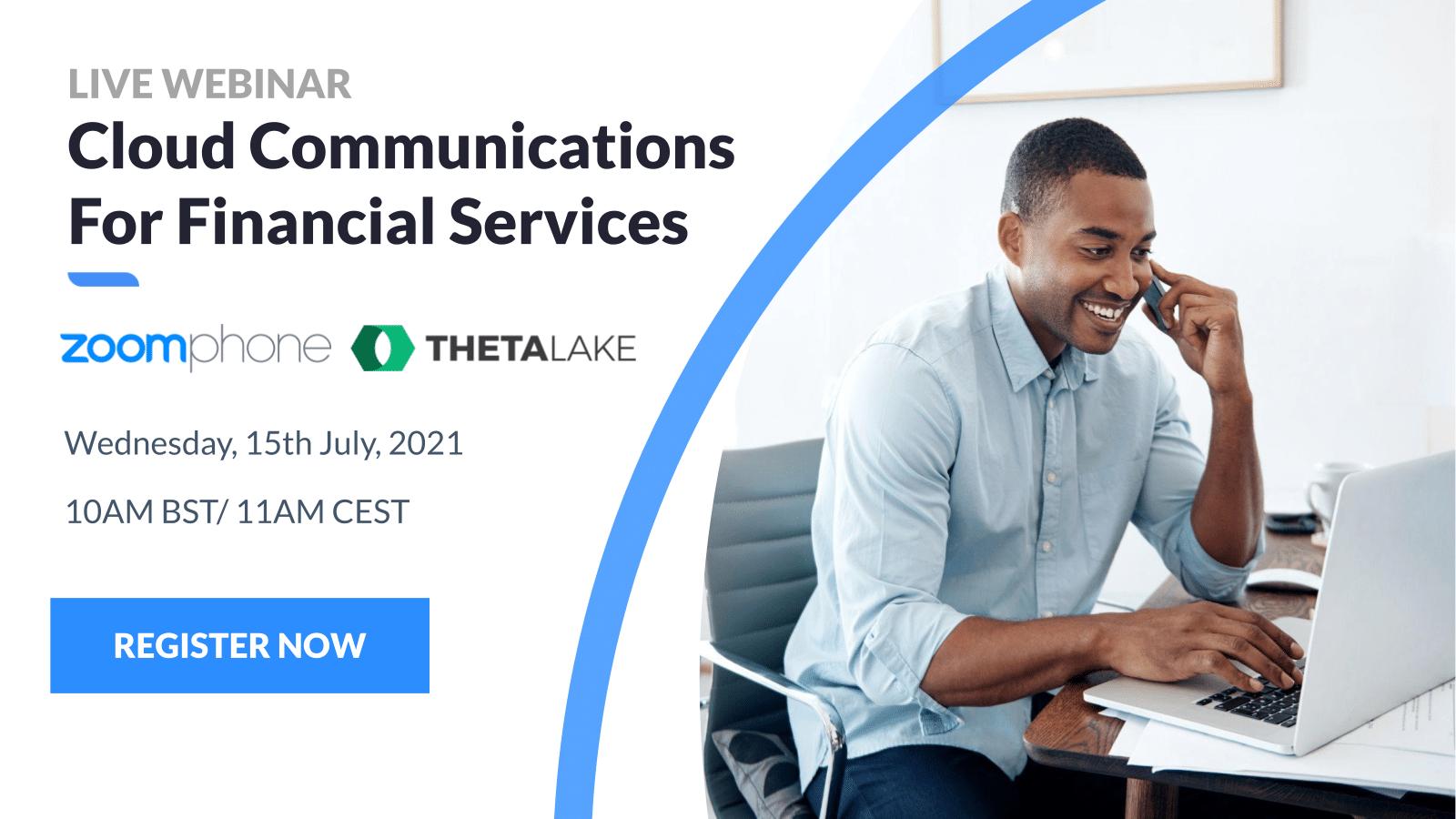 Webinar: Cloud Communications for financial services